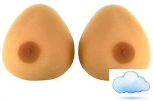 Realistic breast form